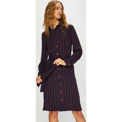 Calvin Klein - Sukienka. Czarne sukienki damskie Calvin Klein, z poliesteru, casualowe. Za 999.90 zł.