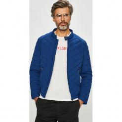 Guess Jeans - Kurtka. Szare kurtki męskie Guess Jeans, z aplikacjami, z jeansu. Za 699.90 zł.