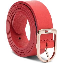 Pasek Damski TOMMY JEANS - Tjw Flag Belt 2.5 AW0AW05896 75 614. Czerwone paski damskie Tommy Jeans, w paski, z jeansu. W wyprzedaży za 139.00 zł.