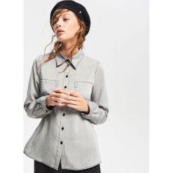 Koszula z lyocellu - Czarny. Czarne koszule damskie Reserved, z lyocellu. Za 139.99 zł.