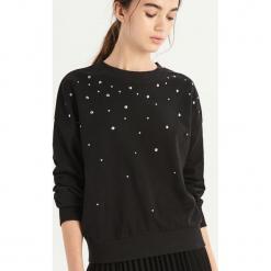 Bluza z dżetami - Czarny. Czarne bluzy damskie Sinsay. Za 49.99 zł.