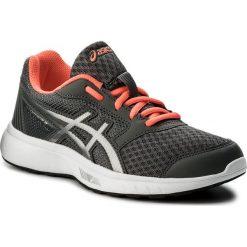Buty ASICS - Stormer 2 T893N  Carbon/Silver/Flash Coral 9793. Szare obuwie sportowe damskie Asics, z materiału. W wyprzedaży za 159.00 zł.