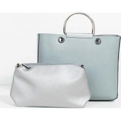 Parfois - Torebka. Szare torby na ramię damskie Parfois. W wyprzedaży za 79.90 zł.