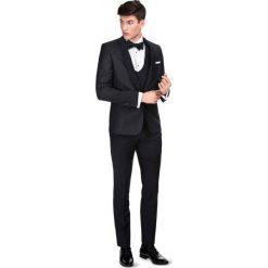 Garnitur LIVIO GASS000099. Czarne garnitury męskie Giacomo Conti, paisley, z wełny. Za 2,199.00 zł.