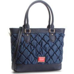 Torebka MONNARI - BAGB290-013 Navy. Niebieskie torebki do ręki damskie Monnari, z materiału. W wyprzedaży za 169.00 zł.