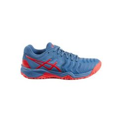 Buty tenisowe Asics Gel Resolution dla juniorów. Szare buty sportowe męskie Asics. Za 229.99 zł.