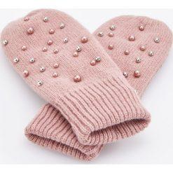 Rękawiczki z koralikami - Różowy. Czerwone rękawiczki damskie Reserved. Za 49.99 zł.