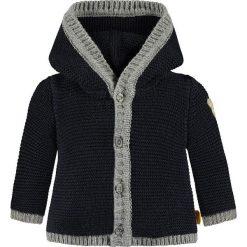 Sweter rozpinany w kolorze granatowym. Swetry dla chłopców marki Reserved. W wyprzedaży za 147.95 zł.