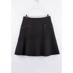 """Spódnica """"Ackbask"""" w kolorze czarnym. Czarne spódnice damskie Scottage, klasyczne. W wyprzedaży za 86.95 zł."""