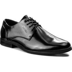 Półbuty OTTIMO - M17SS103-6 Czarny. Czarne eleganckie półbuty Ottimo, z materiału. W wyprzedaży za 79.99 zł.