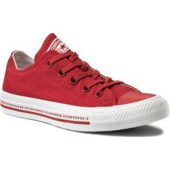Trampki CONVERSE - Ctas Ox 159588C Enamel Red/Enamel Red/White. Trampki męskie Converse, z gumy. W wyprzedaży za 209.00 zł.