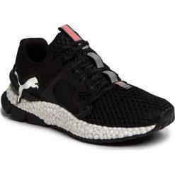 Czarne obuwie damskie Puma, do biegania Kolekcja zima 2020