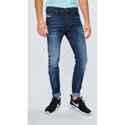 Diesel - Jeansy Tepphar. Szare jeansy męskie Diesel. W wyprzedaży za 849.90 zł.