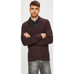 Premium by Jack&Jones - Kardigan. Brązowe kardigany męskie Premium by Jack&Jones, z bawełny. Za 219.90 zł.