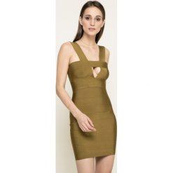 Missguided - Sukienka. Szare sukienki damskie Missguided, z dzianiny, casualowe. W wyprzedaży za 99.90 zł.