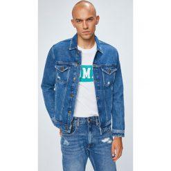 Tommy Jeans - Kurtka. Szare kurtki męskie Tommy Jeans, z bawełny. W wyprzedaży za 429.90 zł.