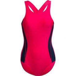 Kostium kapielowy KOS604 - ciemny róż - Outhorn. Czerwone kostiumy jednoczęściowe damskie Outhorn. W wyprzedaży za 49.99 zł.
