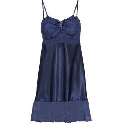 Koszulka nocna bonprix ciemnoniebieski. Niebieskie koszule nocne damskie bonprix, z materiału. Za 79.99 zł.