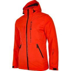 Kurtka narciarska męska KUMN552R - pomarańcz. Kurtki męskie marki KIPSTA. W wyprzedaży za 329.99 zł.