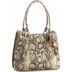 Torebka KAZAR - Gisella 29051-08-36 Beż/Czarny. Brązowe torebki do ręki damskie Kazar, ze skóry. W wyprzedaży za 609.00 zł.