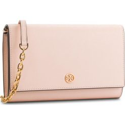 Torebka TORY BURCH - Robinson Chain Wallet 45257 Pale Apricot/Royal Navy 688. Czerwone torebki do ręki damskie Tory Burch, ze skóry. Za 1,259.00 zł.