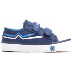 Niebieskie Trampki Happily. Niebieskie buty sportowe chłopięce Born2be, z materiału. Za 49.99 zł.