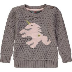 Sweter w kolorze szaro-jasnoróżowym. Swetry dla dziewczynek marki bonprix. W wyprzedaży za 62.95 zł.