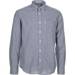 """Koszula """"Gingham"""" - Regular fit - w kolorze granatowo-białym. Białe koszule męskie Ben Sherman, w kratkę, z bawełny, button down. W wyprzedaży za 130.95 zł."""