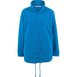 Bluza rozpinana z polaru, długi rękaw bonprix lazurowy niebieski. Bluzy damskie marki KALENJI. Za 79.99 zł.