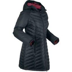 Długa kurtka funkcyjna outdoorowa bonprix czarny. Czarne kurtki damskie bonprix. Za 269.99 zł.