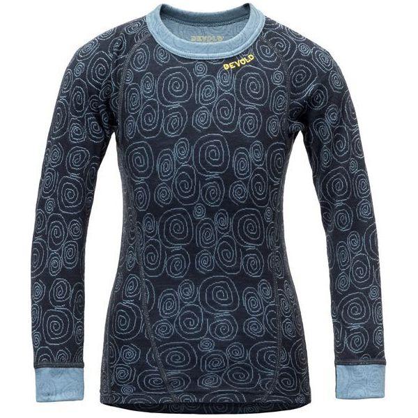 13468d7534183e Devold Koszulka Dziewczęca Active 116 Czarna - Bluzki dla ...
