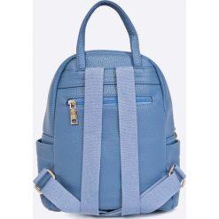 Answear - Plecak. Niebieskie plecaki damskie ANSWEAR, z materiału. W wyprzedaży za 89.90 zł.