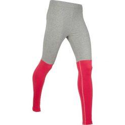 Legginsy sportowe, długie, Level 1 bonprix jasnoszary melanż - czerwony. Legginsy damskie marki DOMYOS. Za 79.99 zł.
