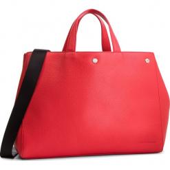 Torebka CALVIN KLEIN JEANS - Logo Banner Ew Bottom Tote K40K400821 634. Czerwone torebki do ręki damskie Calvin Klein Jeans, z jeansu. Za 649.00 zł.