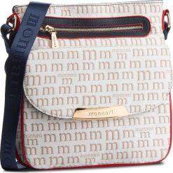 Torebka MONNARI - BAG3220-013 Navy. Białe torebki do ręki damskie Monnari, z materiału. W wyprzedaży za 129.00 zł.