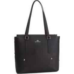 Torebka WITTCHEN - 87-4E-429-1 Czarny. Czarne torebki do ręki damskie marki Wittchen, ze skóry. W wyprzedaży za 489.00 zł.