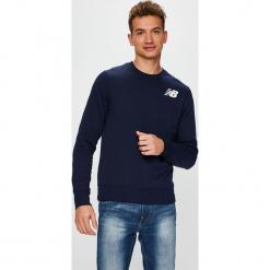 New Balance - Bluza. Szare bluzy męskie New Balance, z nadrukiem, z bawełny. Za 199.90 zł.
