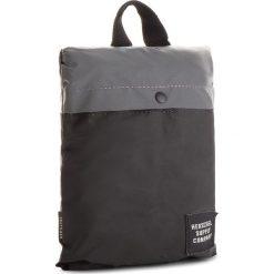 Plecak HERSCHEL - Packable Daypack 10076-01900 Silver Refl./Black Refl. Czarne plecaki damskie Herschel, z materiału. W wyprzedaży za 189.00 zł.