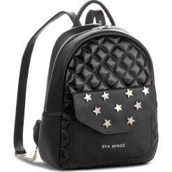 Plecak EVA MINGE - Asuncion 2F 17NN1372295EF  101. Czarne plecaki damskie Eva Minge, ze skóry, klasyczne. W wyprzedaży za 299.00 zł.
