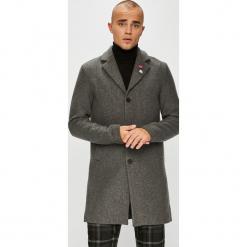 Jack & Jones - Płaszcz. Szare płaszcze męskie Jack & Jones, z bawełny, klasyczne. W wyprzedaży za 339.90 zł.