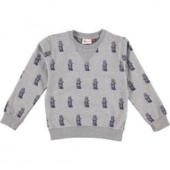 """Bluza """"Sebastian 713"""" w kolorze jasnoszarym. Zielone bluzy dla chłopców marki Lego Wear Fashion, z bawełny, z długim rękawem. W wyprzedaży za 82.95 zł."""