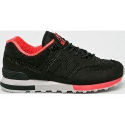 New Balance - Buty ML574ENC. Czarne buty sportowe męskie New Balance. W wyprzedaży za 399.90 zł.
