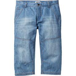 """Dżinsy 3/4 Regular Fit Tapered bonprix niebieski """"used"""". Jeansy męskie marki bonprix. Za 89.99 zł."""
