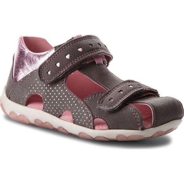 Sandały SUPERFIT - 2-00041-44 D Smoke Kombi - Sandały dziewczęce ... c63e798ff1