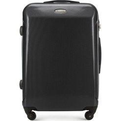 Walizka średnia 56-3P-972-10. Czerwone walizki damskie Wittchen, z gumy. Za 199.00 zł.
