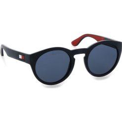 Okulary przeciwsłoneczne TOMMY HILFIGER - 1555/S Blue Rssbia 8RU. Okulary przeciwsłoneczne damskie Tommy Hilfiger. W wyprzedaży za 339.00 zł.