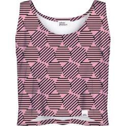 Colour Pleasure Koszulka damska CP-035 30 różowa r. XXXL-XXXXL. Bluzki damskie Colour Pleasure. Za 64.14 zł.