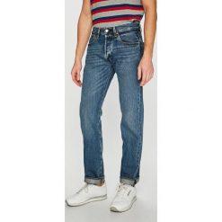 Levi's - Jeansy 501. Brązowe jeansy męskie Levi's. Za 399.90 zł.