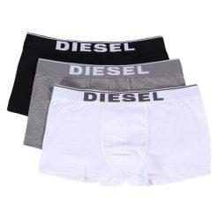 Diesel Bokserki Męskie 3 Pack Damien Xxl Wielokolorowe. Szare bokserki męskie Diesel, z bawełny. Za 179.00 zł.