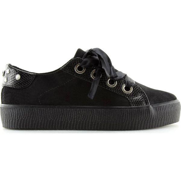 ButyModne Buty sportowe biało czarne HL 04 Black rozmiar 36